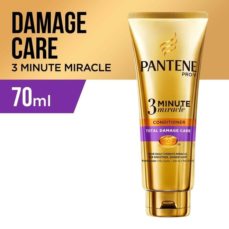 pantene 3 minute miracle conditioner total damage care 70ml